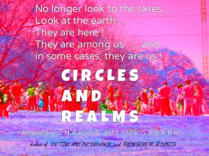 What would you do if you were planning a reunion with your family, but before they arrive you discover a crop circle on your land, the type found in England? When they arrive and interact  with the circle, they become even more dysfunctional than before? One family member disappears and an plane carrying two men trying to photograph the circle crashes in the circle, empty of passengers?